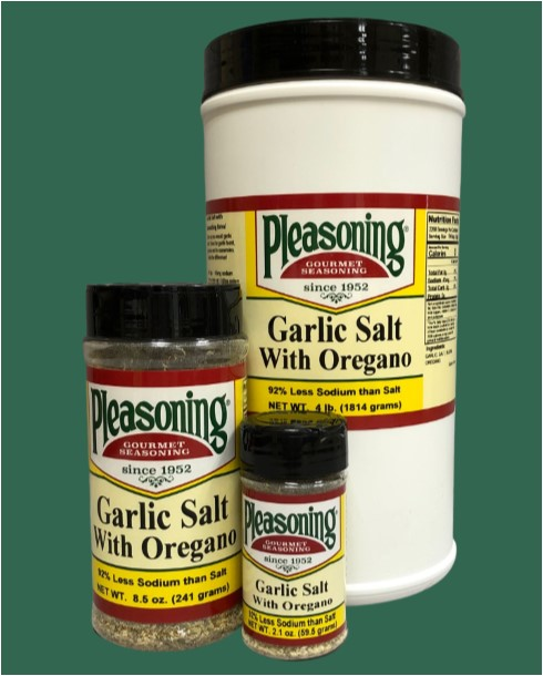 Garlic Salt w/Oregano 045